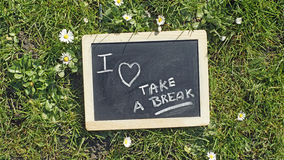 Take a break Royalty Free Stock Photo