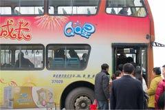Take  bus Stock Photo
