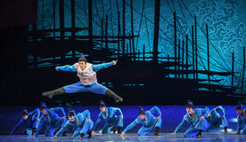 """Take the cake-Dance drama """"The Dream of Maritime Silk Road"""". Dance drama """"The Dream of Maritime Silk Road"""" centers on the plot of two generations Stock Image"""