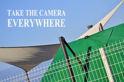 Take the camera Royalty Free Stock Images