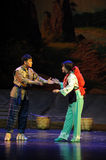 Take care of each other- Jiangxi opera a steelyard Royalty Free Stock Photo