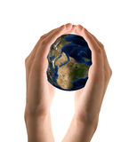 Take care the earth Stock Photography