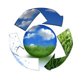 Take Care of Mother Earth Concept Royalty Free Stock Photos
