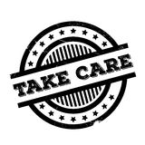 Take Care rubber stamp Stock Photography