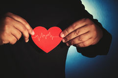 Take care your heart Stock Images