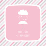 Take care of yourself5 Royalty Free Stock Image