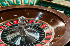 Take a chance. Chance your luck at the roulette royalty free stock image