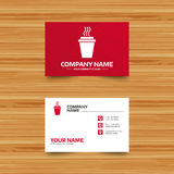 Take a Coffee sign icon. Hot Coffee cup. Royalty Free Stock Image