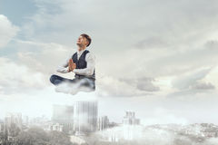Take a deep breath and relax Royalty Free Stock Photo