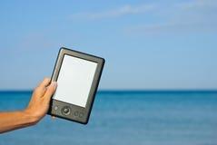 Take an e-book! Stock Image