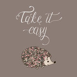 Take it easy. Stock Images