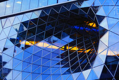 Take a gander at a generous glass facade Royalty Free Stock Photography