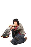 Take a guitar Stock Photography