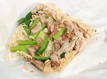 Take home noodles Stock Photos