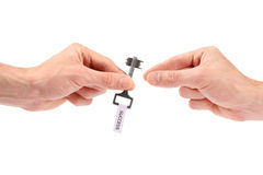 Take key to success Royalty Free Stock Image