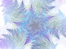 Surreal futuristic digital 3d design art abstract background fractal illustration for meditation and decoration wallpaper. Take a look in the nice infinity of stock illustration