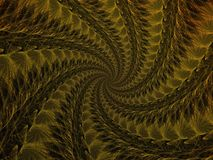 Surreal futuristic digital 3d design art abstract background fractal illustration for meditation and decoration wallpaper. Take a look in the nice infinity of vector illustration