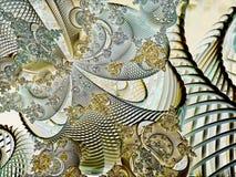 Surreal futuristic digital 3d design art abstract background fractal illustration for meditation and decoration wallpaper stock photos