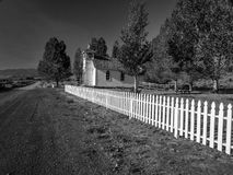 Take Me Down To The Little White Church Royalty Free Stock Photography