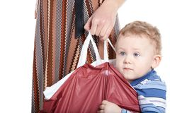 Take me home, mummy! Royalty Free Stock Photo