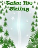 Take me skiing Royalty Free Stock Photo