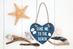 Take Me to the Beach Stock Image
