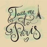 Take me to Paris Royalty Free Stock Photography