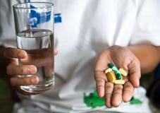 Take Medicine Stock Photo