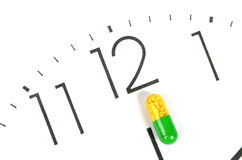 Take medicine on time Royalty Free Stock Images