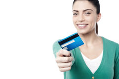 Take my cash card ! Royalty Free Stock Images