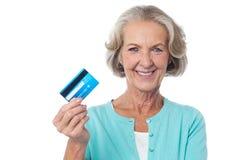 Take my cash card ! Stock Photo