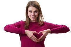 Take my heart Royalty Free Stock Photo