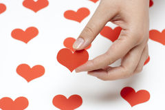Take my heart Royalty Free Stock Photos