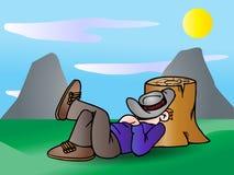 Take a nap Royalty Free Stock Photo