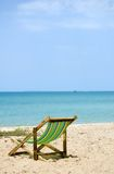 Take A nap on the beach. Only beach area is in focus Royalty Free Stock Image