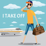 Take off Royalty Free Stock Images