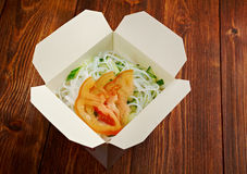 In take-out box Stock Photography