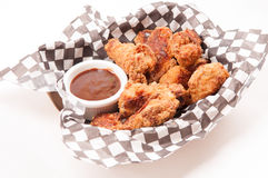 Take out chicken wings Royalty Free Stock Photos