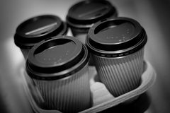 Take Out Coffee Royalty Free Stock Photos
