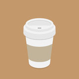 Take out coffee Royalty Free Stock Photography