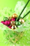 Take-Out Weihnachten stockbild
