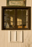 Take out window Royalty Free Stock Images