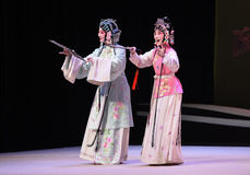 "Take part in a garden party-Kunqu Opera ""the West Chamber"" Royalty Free Stock Photography"
