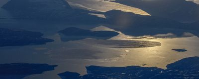 Take a picture of the ice on the bering strait(11) royalty free stock images
