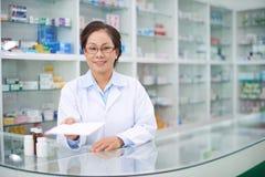 Take this prescription Stock Photos