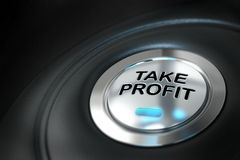 Take profit, financial concept Royalty Free Stock Photography