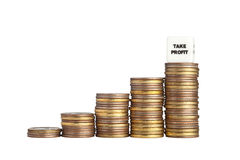Take profit Stock Photo