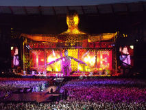 Take That  Progress Tour Live Royalty Free Stock Image