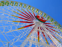 Take a ride. Ferris wheel stock photo