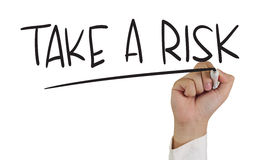 Take a risk Stock Images